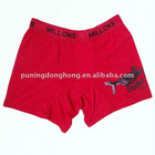 polyester and spandex cheap new brand underwear for men
