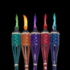 color flame oil candle torch
