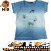 100% Cotton Printed T Shirt Design HSC110343