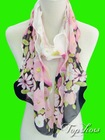 2012 Fashion Flower Design New style scarves