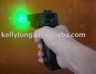 Adjustable Focus Gun Green Laser Pointer with pulse