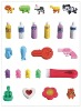 Fancy japanese erasers
