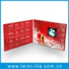 Video greeting card for christmas