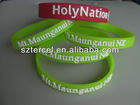 low in the dark cheap custom rubber wristbands (TC-W-181)