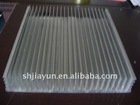 extruded aluminium profile for electrical radiators