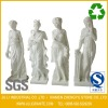Four Season Western Style White Marble Sculpture