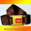 Top Luxury press buckle belt