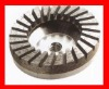 Cup wheels with Aluminum Core