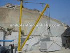 TLXC type derrick crane for lifting raw stone