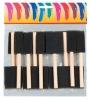Sponge Brush With Wooden Handle