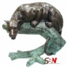 Bronze Sculpture Animal Tiger SBN-BZA-B670