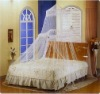 mosquito net White double bed with firll decorate