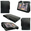 for kindle fire hd leather case black