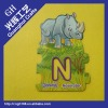 cute cartoon EVA Fridge Magnet /Puzzle