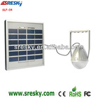 3W/ 1W Solar panel table lantern light adjust lamp