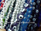HOT SALE high quality fashion heart evil eye beads with various colors