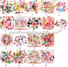 Free Ship!! 200pcs/lot mixed designs lovely kawaii flat back resin cabochons DIY decoration Cell Phone Nail Art Beauty Ornament