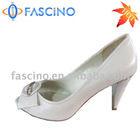 2013 high heel leather dress shoes for woman