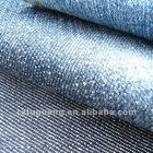 7.8OZ warp yarn stlub fabric with 100% cotton indigo blue colored