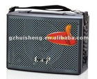 """Karaoke system battery speaker portable speaker with wheels dj speaker multidemia speaker usb,sd,fm 6.5"""" (XW-10)"""