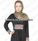 (KJ-WAB850) Hight qulity Abaya lace fashion muslim long dress, women abaya dubai design