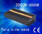 Factory sell dc 48v to ac 200v-240v 2000w pure sine wave inverter with 5A charger