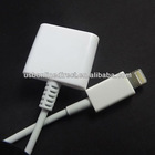 new 8 pin to 30 pin Adapter Cable For Apple iPhone 5 5G iPod nano 7th