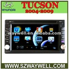 WAYWELL car dvd gps for hyundai tucson 2004-2009