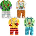 4 designs mixed Long sleeve romper baby's romper, boy's romper, girl's romper,