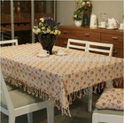 decorative damask table linen
