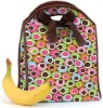 Neoprene Lunch & Beverage Tote with coustomized pattern