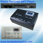 Telephone recorder box,SD card memory,recording,LED display,220V/110V power supply,