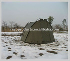 Carp fishing bivvy two doors in front and back sides