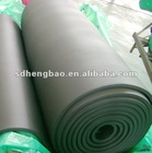 black rubber foam insulation sheet in roll
