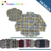 2013 New fashion long boys shirt children clothing 076#