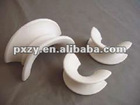 Ceramic saddles packing