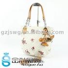 fashion new Lady bag hand bag leather bag shoulder bag with fringes