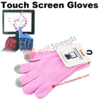 Finger Touch Gloves! Wholesale Universal Touch Screen Gloves/Finger Touch Gloves for Tablet PC/iPhone/iPad/HTC/Samsung