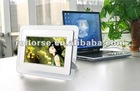 "7"" 7 Inch TFT LCD Multi-functional Digital Photo/Picture Frame w/ Remote White"