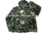 men's camo fleece jacket outdoor wear