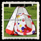 Outdoor kids play tent house