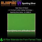Sparkling silver mdf panel + UV