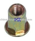 M4-M10 flat head hex Rivet nut