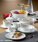 opal glass dinner set-58pcs