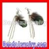 Wholesale Multi Coloured Long Feather Earrings for Women FE5341