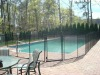 removable mesh pool safety fence