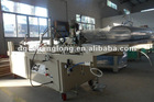 Box Folding and Gluing Machine