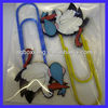 OEM factory custom bird logo bookmark paper clip
