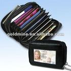 ACCORDION SECURITY WALLET /rfid security wallet/card wallet/buxton wallet