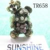 Nice lovly bear shape finger rings